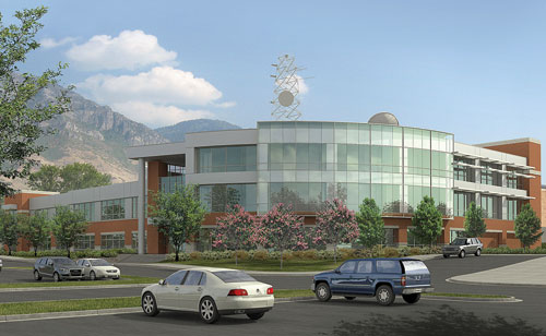 BYU Broadcasting Building, where students learn through experience.