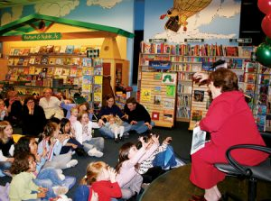 Governor Walker Reads to young children