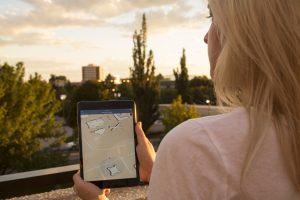 campus maps on ipad