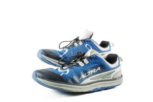 Altra running shoes.