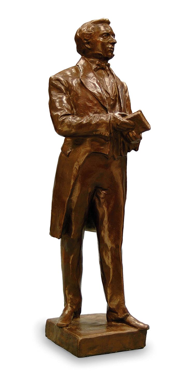 A statue of Joseph Smith