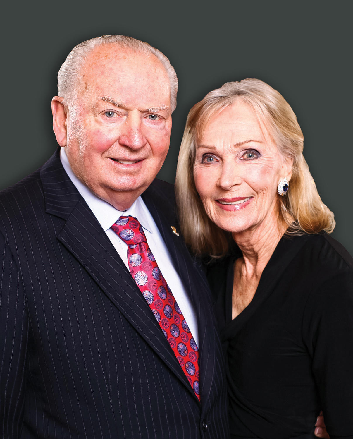 A portrait photo of the Maughans.