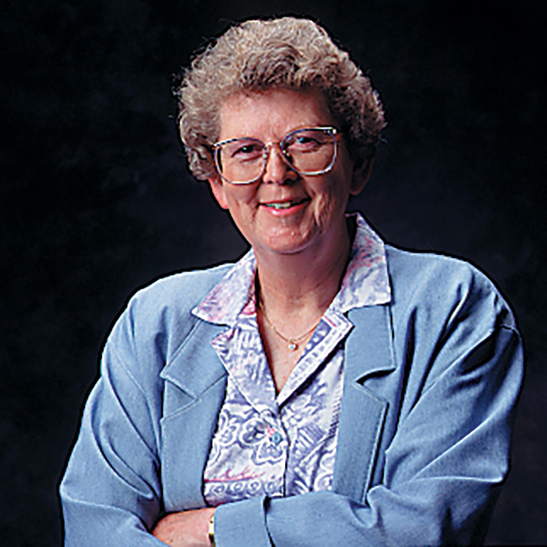 A portrait of Elaine Michaelis