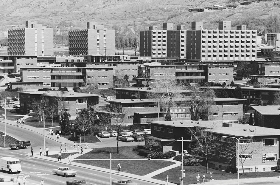 BYU housing in the 1960s