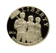2014 Civil Rights Act of 1964 Commemorative Silver Coin