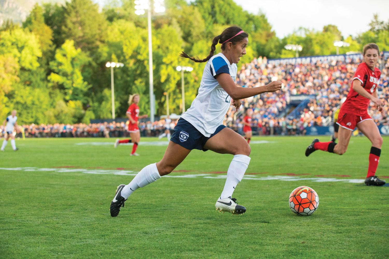 Women's Soccer BYU vs. Utah