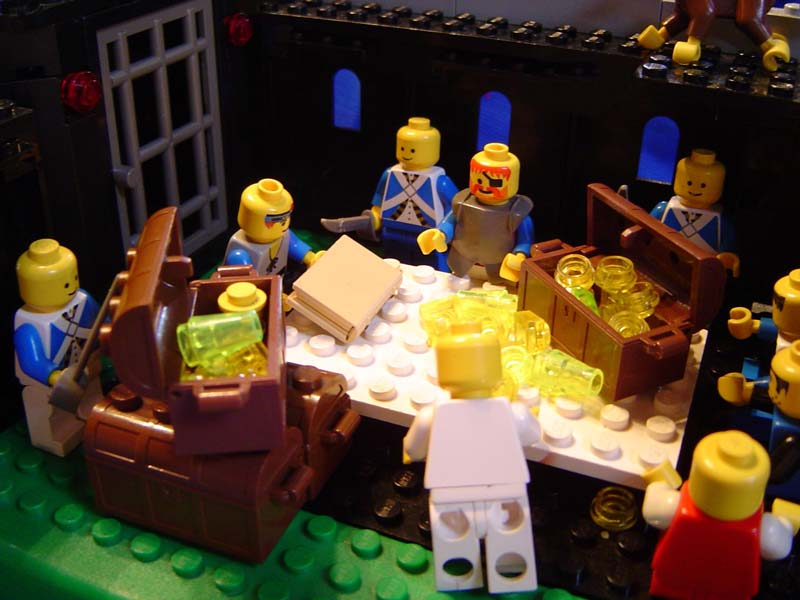 Lego Nephi & Brothers Trading Laban