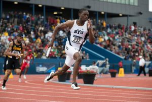 Tatenda Tsumba runs for BYU