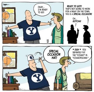 BYU gear comic