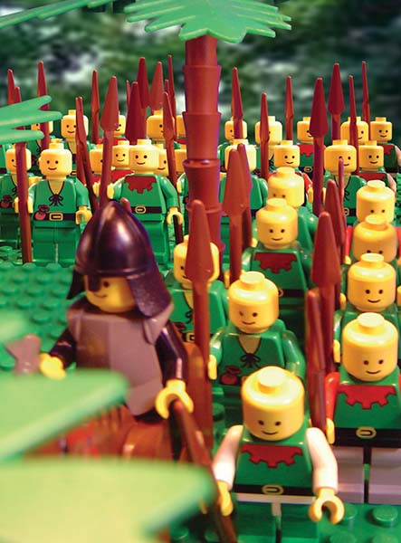 Lego Helaman Leads Stripling Warriors