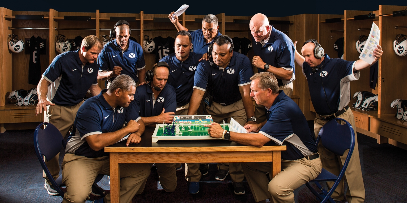 Byu S New Football Coaching Staff Made Up Of Y Guys