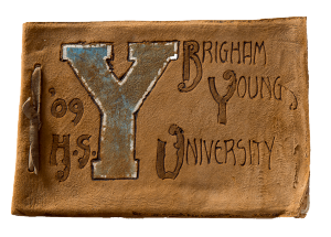 Cover of the first BYU yearbook