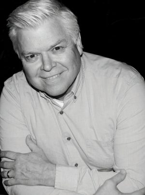 Portrait of author Ron White.