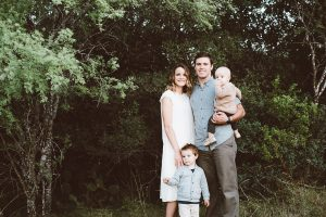 A family portrait that includes former BYU football running back Ryan Folsom, a loving father and aspiring medical student whose his life was cut short in a tragic car accident in January.