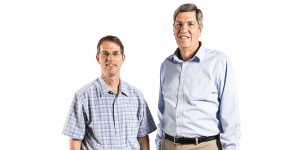 BYU electrical engineering professors Karl Warnick and Brian Jeffs