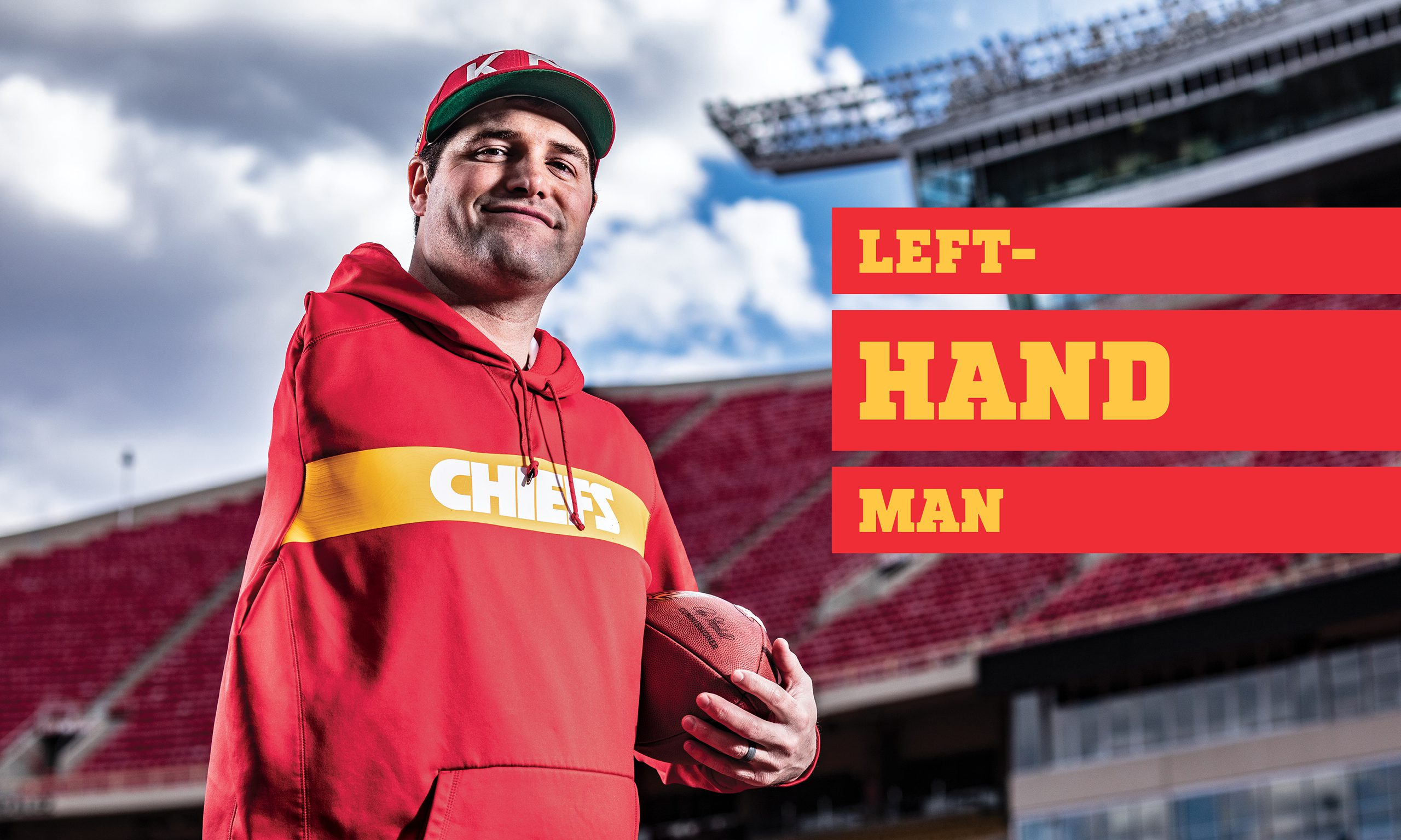 73063edfb Kansas City Chiefs Assistant Porter Ellett Thriving with One Arm