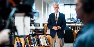 BYU president Kevin J Worthen.